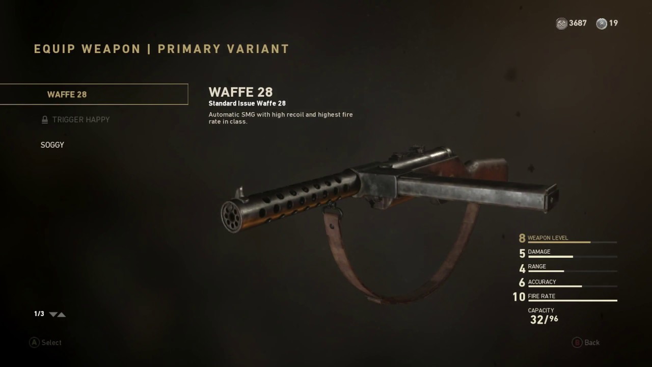 how to get the bar variant in ww2 cod