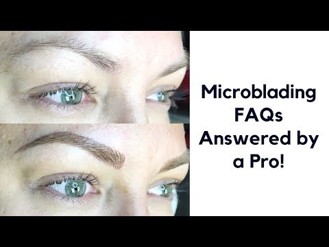 Microblading FAQs | ALL your questions answered by a pro!