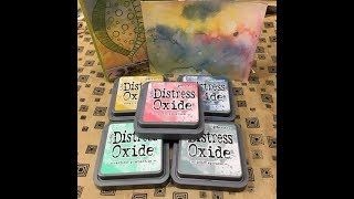 Make Art Tags with Distress Oxide Ink Techniques