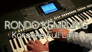 Download lagu RONDO KEMPLING KARAOKE KOPLO ANGKLUNG MP3