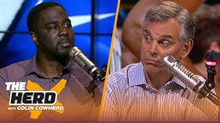 Chris Haynes on upcoming free agency and the 'most overrated' players in the NBA   NBA   THE HERD