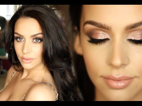 Get Ready with Me: Cream Contour & Highlight +Big Loose Curls