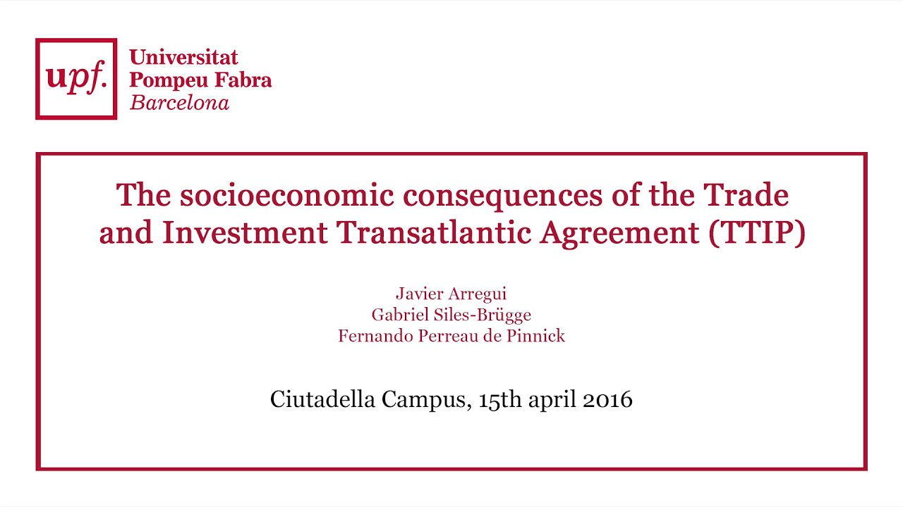 The Socioeconomic Consequences Of The Trade And Investment