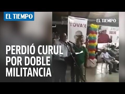 Prueba en video de la doble militancia de Luis Emilio Tovar  | EL TIEMPO