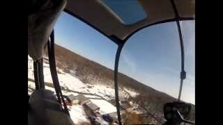 Bride pilots helicopter as groom jumps out. aviationwedding.com howley ivascu
