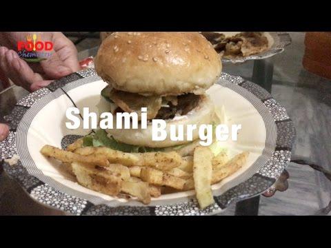 Shami Burger - anday wala burger | Food Chemistry