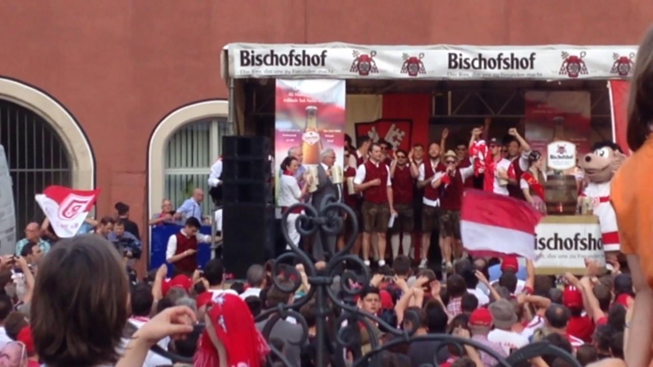 Jahn Regensburg Aufstiegsfeier