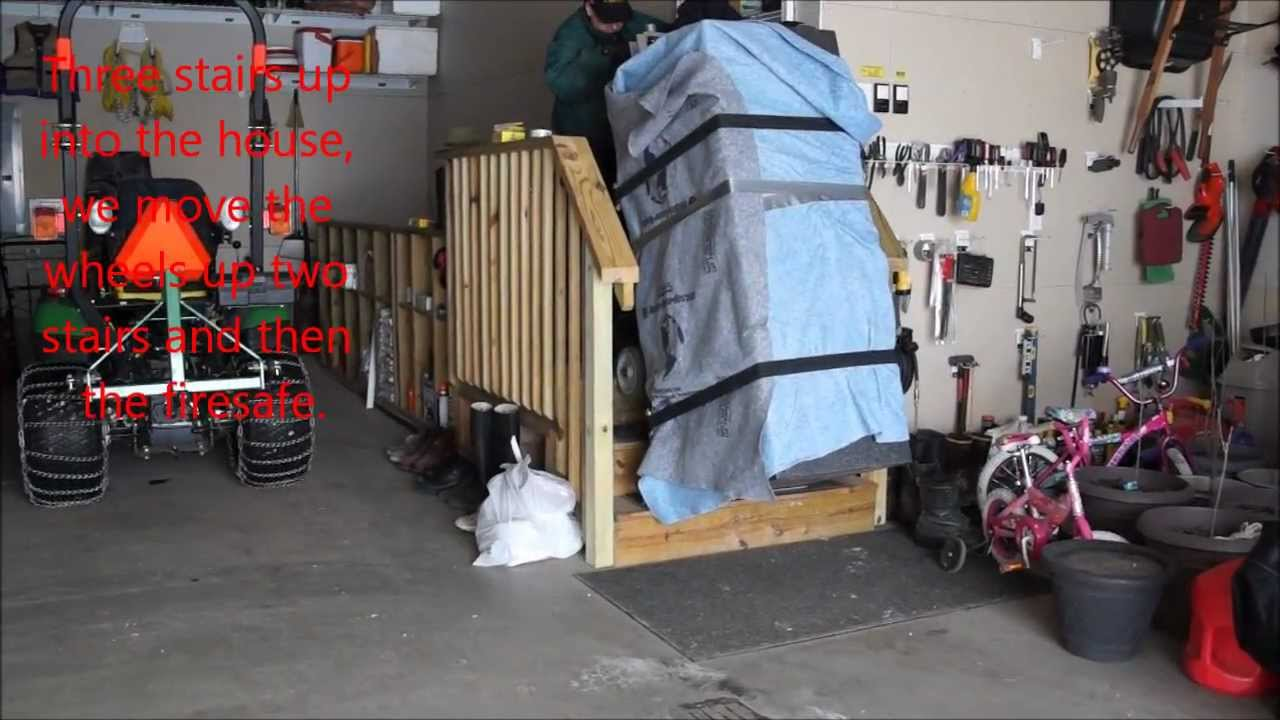 DIY Moving Heavy Items With A Dolly   YouTube