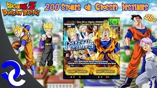 DBZ Dokkan Battle - MULTISUMMONS ON CROSSED DESTINIES