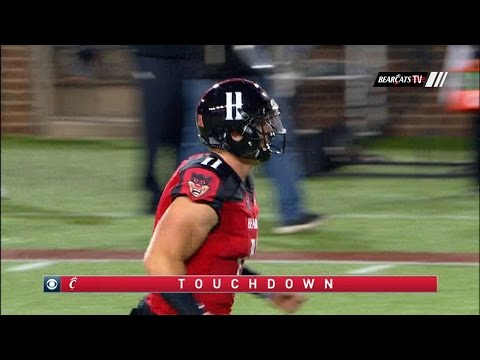 Football Highlights: Cincinnati 31, ECU 19 (Courtesy of CBS Sports)