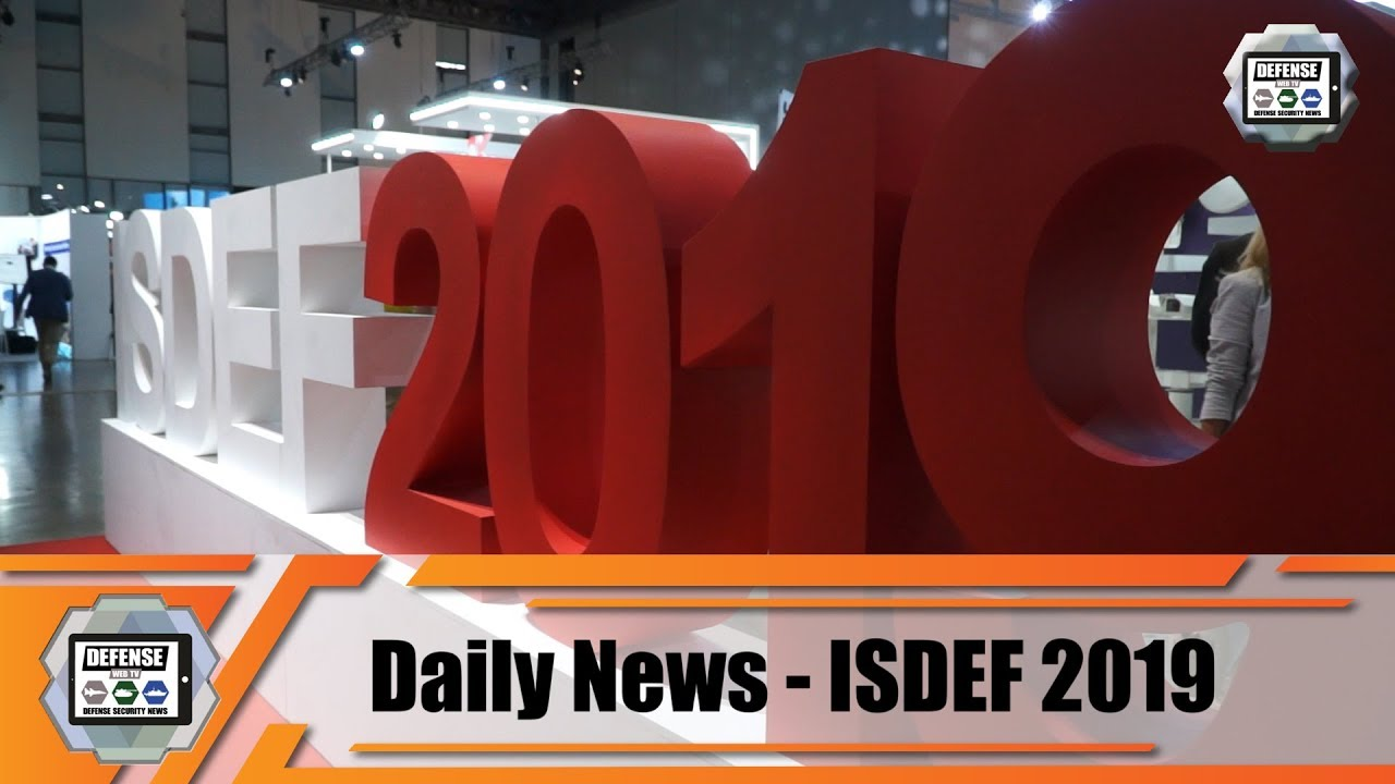 ISDEF 2019 Official TV video pictures Defense Security Exhibition Israel