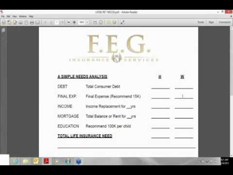 Freedom Equity Group FEG Client Presentation Part 2 Needs Analysis