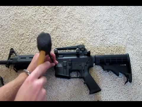 How to Field Strip an AR-15/M4 Rifle - YouTube