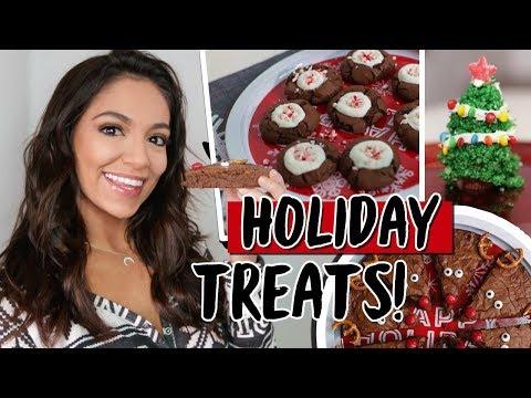 EASY DIY HOLIDAY TREATS! | Bethany Mota