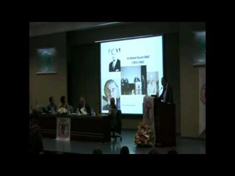 Dr.Özdemir Aktan'ın konuşması