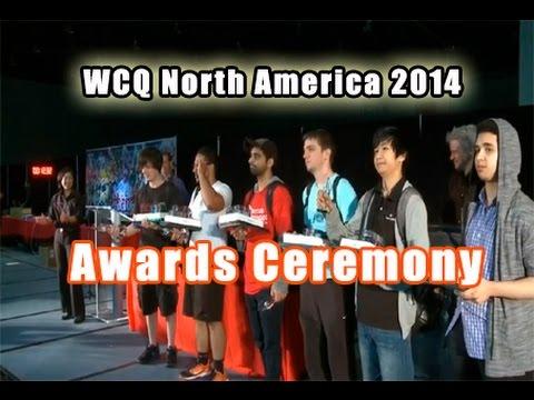Yu-Gi-Oh! WCQ North America 2014 - Awards Ceremony (with Marc Thompson - Astral & Dan Green - Yugi)