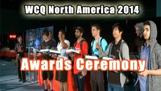 Yu-Gi-Oh! WCQ North America 2014 - Awards Ceremony (with Marc Thompson - Astral & Dan Green - Yugi)