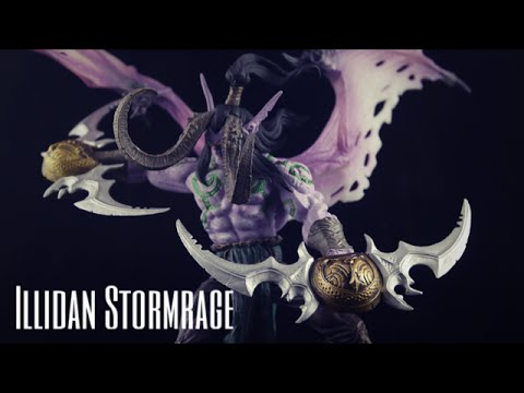 world of warcraft illidan stormrage deluxe collector