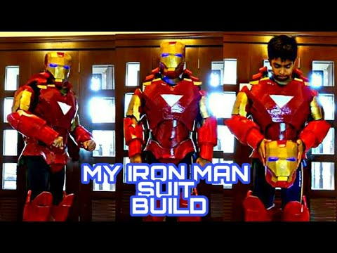 IRONMAN COSPLAY BUILD FINAL REVEAL BY 15 YEAR OLD