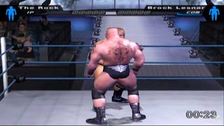 WWE SmackDown! Here Comes the Pain PS2 Gameplay HD