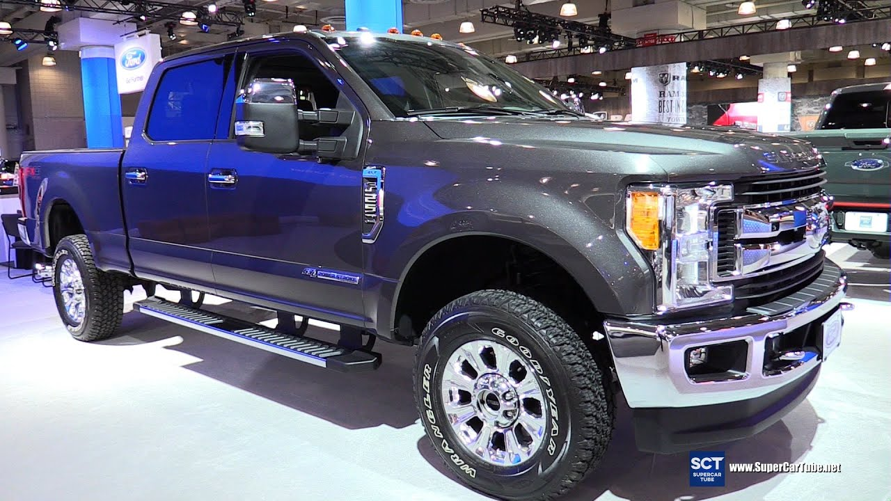 2017 ford f 250 super duty fx4 off road exterior and