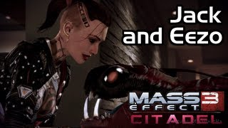 Mass Effect 3 - Citadel DLC - Invite up Jack to the Apartment (along with Eezo)