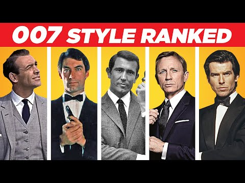 The WORST Dressed James Bond? 007 Style Ranking!