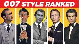 The WORST Dressed James Bond 007 Style Ranking