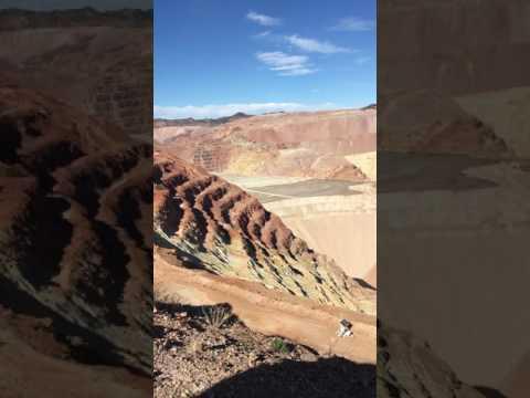 Freeport McMoran Mine overlook