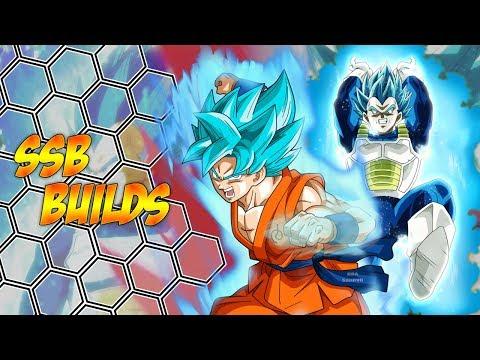 Super Saiyan Blue Build Syngergy Dragon Ball Xenoverse 2