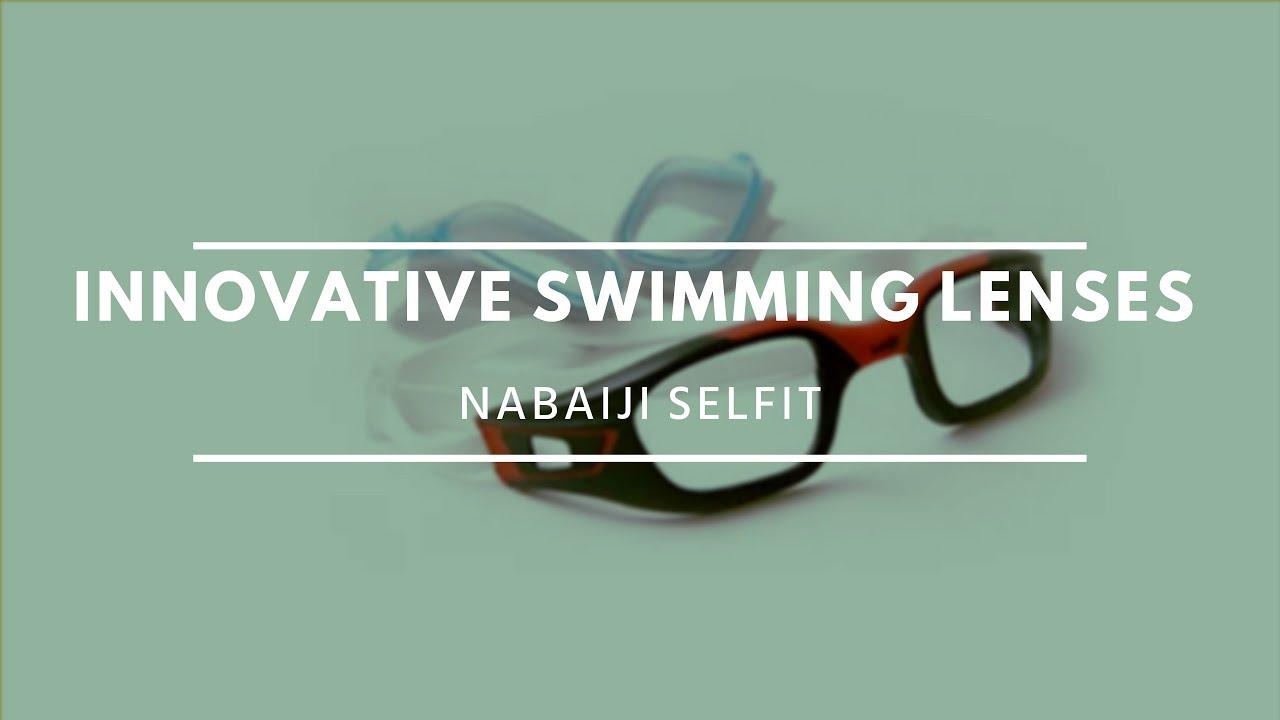 42b3be68e51 Interchangeable Swimming Lenses Nabaiji Selfit   Decathlon Innovation  Awards 2015