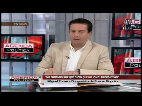 Entrevista en Agenda Política