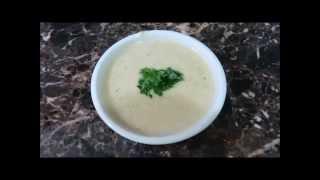 Swedish Cream of Potato Soup Шведский Картофельный Суп со Сливками