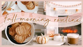 FALL MORNING ROUTINE | a peaceful & cozy autumn morning 🍂☕️