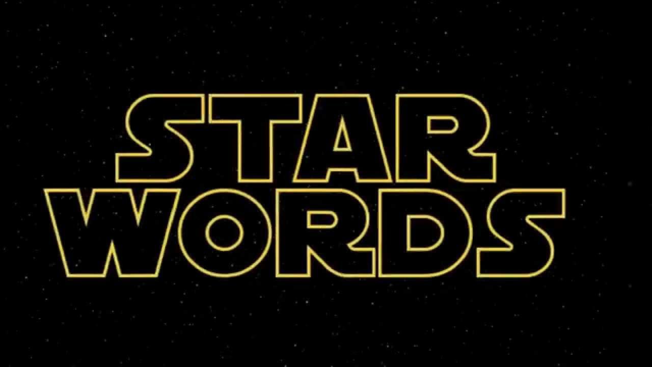 star wars terminology