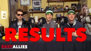 RESULTS SHOW! - Easy Allies PSX and Game Awards Betting Special 2016