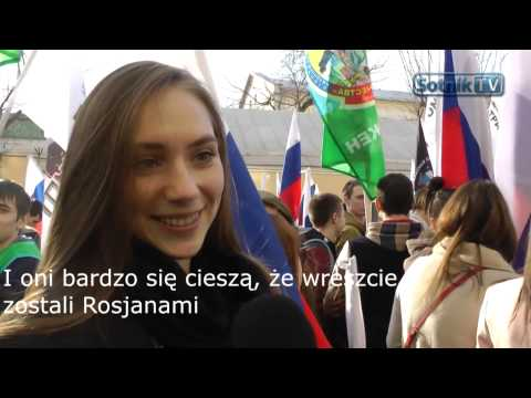 """""""KRYM NASZ"""" - DZIĘKUJEMY ZA KRADZIEŻ! Sotnik TV, polskie napisy"""