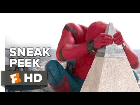 Spider-Man: Homecoming Official Sneak Peek (2017) - Tom Holland Movie