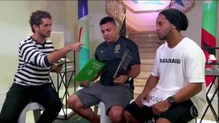 Interviewer asks Ronaldo and Ronaldinho: