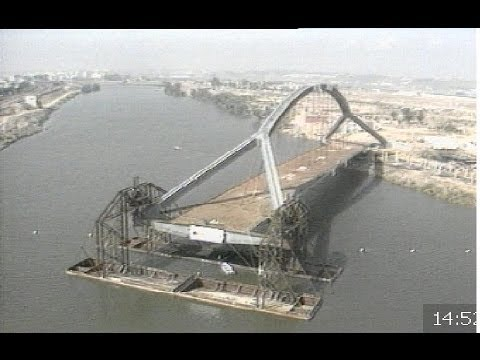 Puentes sobre el guadalquivir para la sevilla de la expo - La isla dela cartuja ...