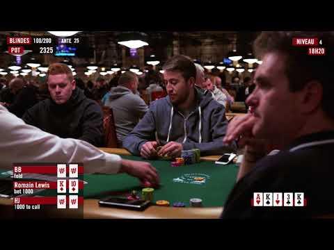 Dans la Tête d'un Pro : Romain Lewis aux WSOP 2017 (2)