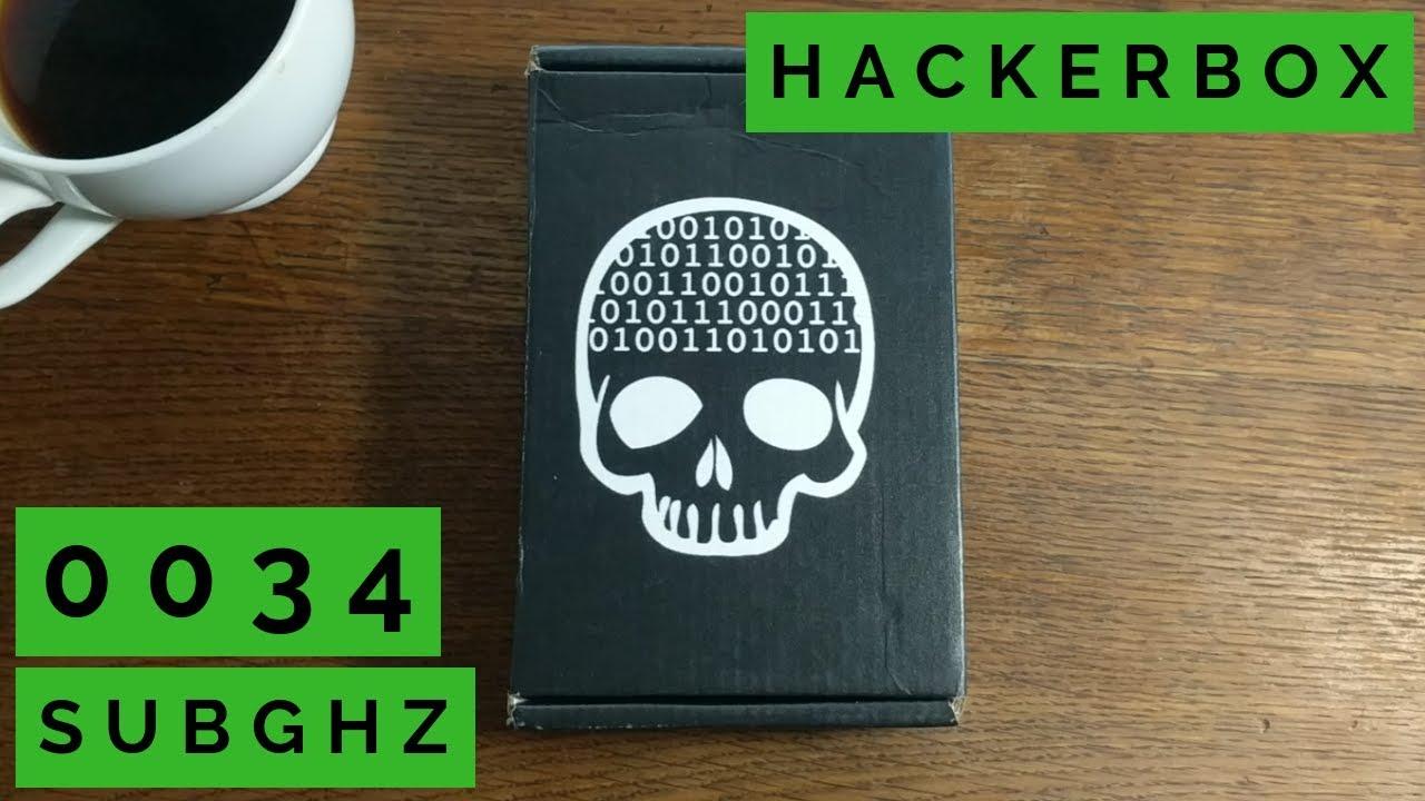 HackerBox 0034 SubGHz (RTL-SDR + FM transmitter & receiver + 433MHz Arduino  transceiver kit)