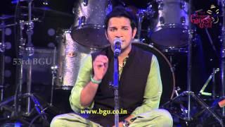 """Krishna Ni Begane Baaro"" Classical Song by Karthik @ 53rd Bengaluru Ganesh Utsava..!!!"