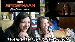 SPIDER-MAN: FAR FROM HOME TEASER TRAILER REACTION