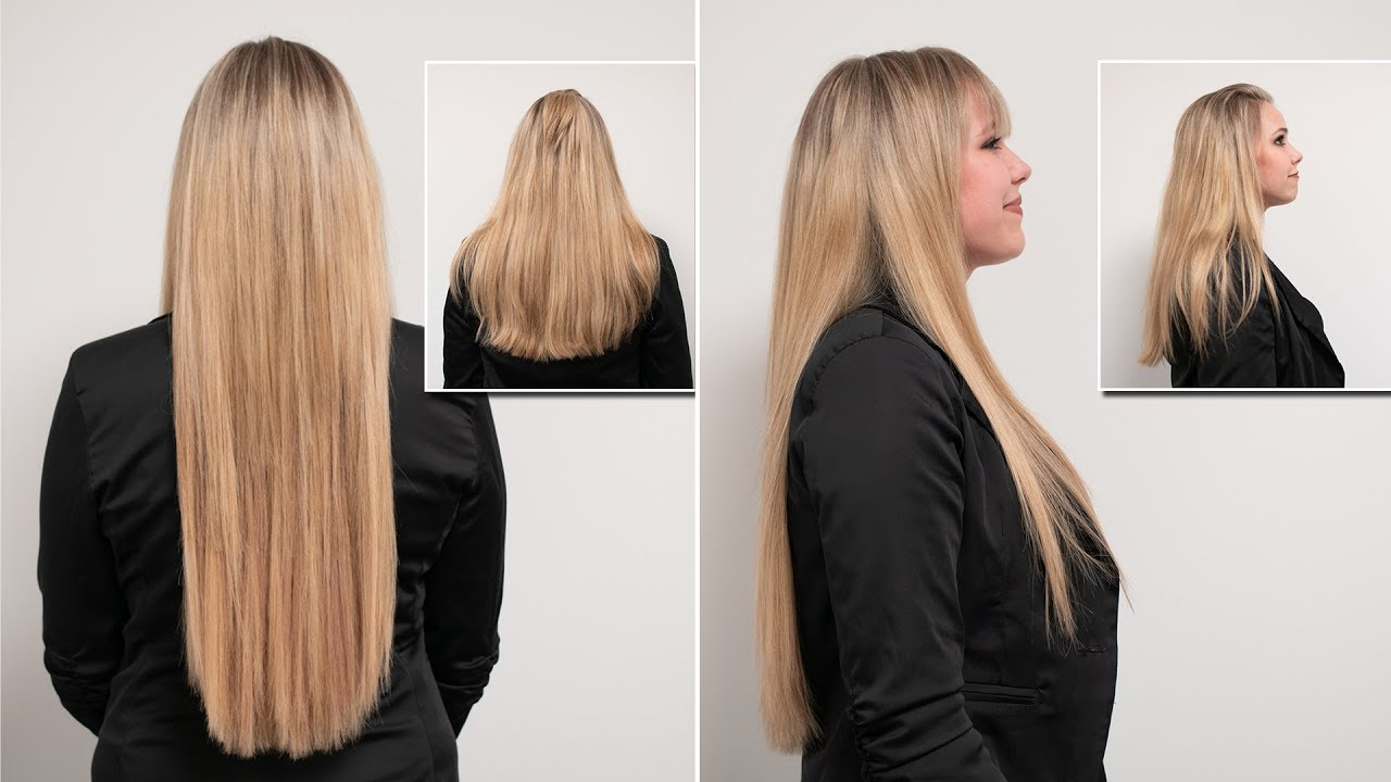 50 Cm Extensions Schonende Haarverlängerung Mit Great Lengths