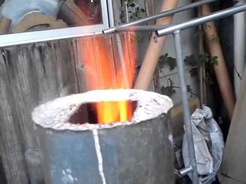 Como hacer una cocina cohete casera rocket stove - Como hacer una cocina de lena ...