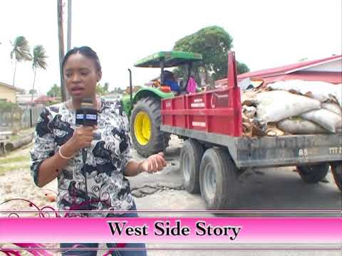 West Side Story - Guyana Government responds to over-topping devastation