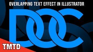 Illustrator Tutorials: Overlapping Text Effect in Illustrator