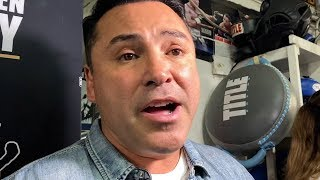 """OSCAR DE LA HOYA TO MCGREGOR """"PACQUIAO WOULD BEAT YOU IN BOXING, STAY IN YOUR LANE"""""""