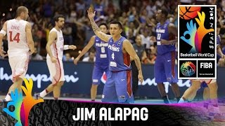 Jim Alapag - Best Player (Philippines) - 2014 FIBA Basketball World Cup
